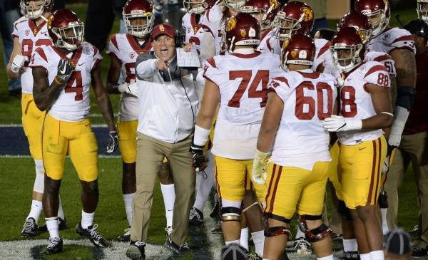 Improving Texas Longhorns, No. 22 USC Trojans renew rivalry