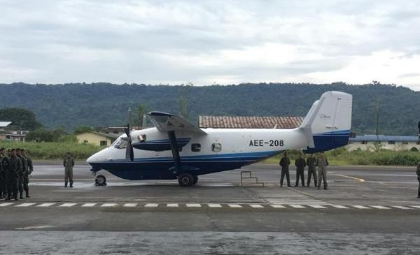 M28 transport plane makes transatlantic flight from Poland to Ecuadorian Army