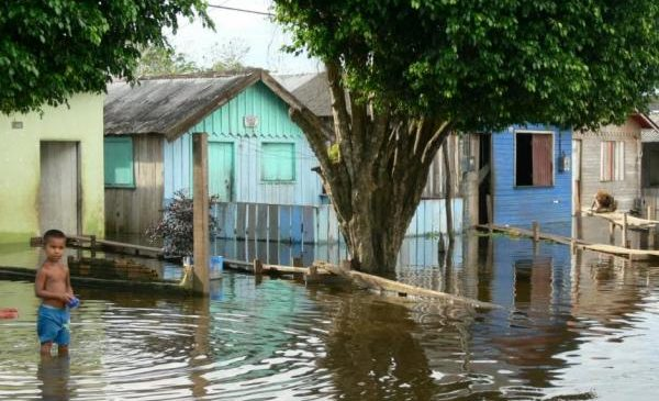 The Amazon is flooding five times more often than it used to