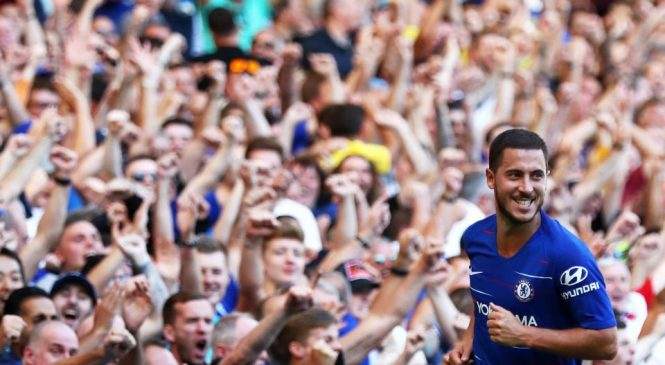 Chelsea star Eden Hazard admits he prefers Maurizio Sarri's football to Jose Mourinho and Antonio Conte's