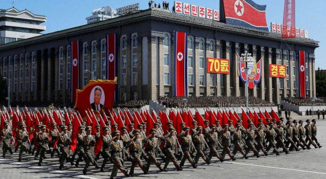 North Korea adds new twist to big parade: Reporter's notebook