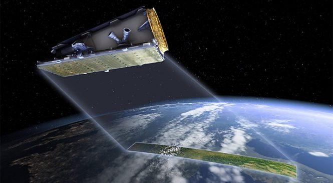 NovaSAR: UK radar satellite launches to track illegal shipping activity