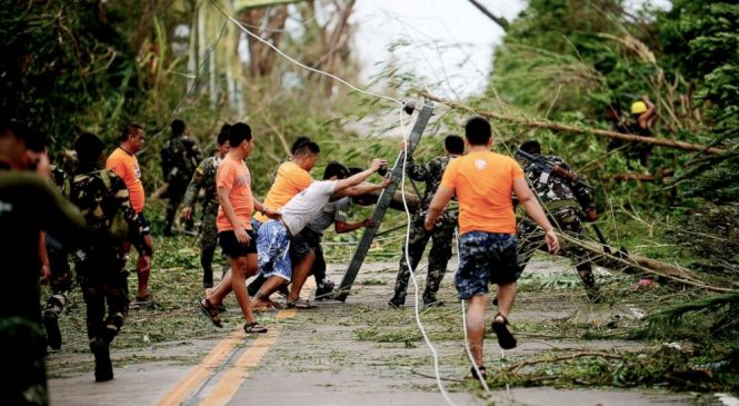 2018 world's strongest storm: Mangkhut barrels through Philippines toward China