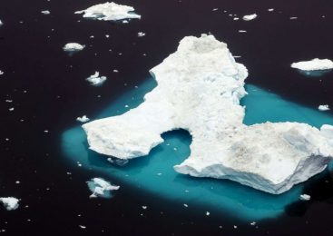 Watch billions of tons of ice collapse at once: Climate change impact on Greenland
