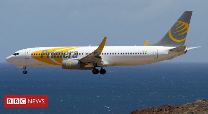 Primera Air: Passengers stranded as airline collapses