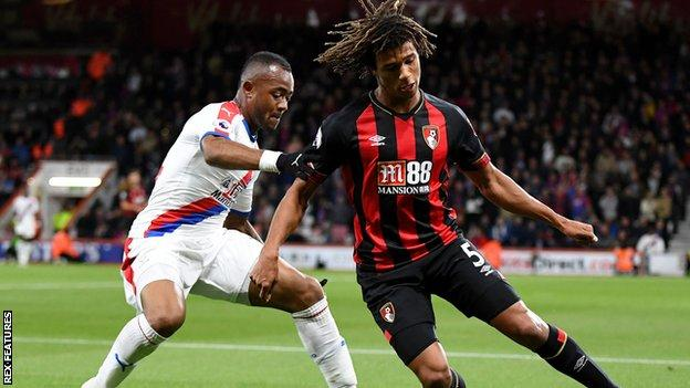Late penalty sees Bournemouth beat Palace to go seventh