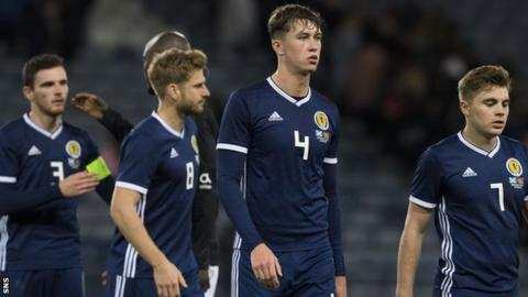 Scotland after the defeat to Portugal