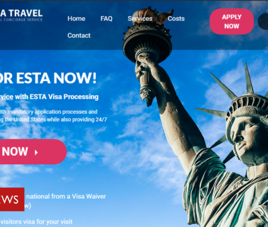 Google takes down travel visa ads