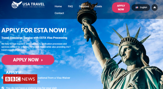 Google takes down travel visa ads