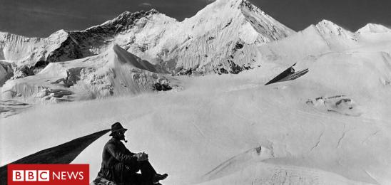 Legendary team's 1921 Everest album