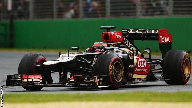 Kimi Raikkonen wins at the 2013 Australian Grand Prix