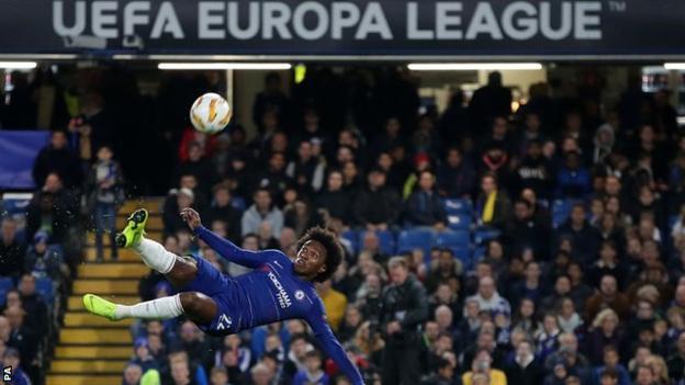 Loftus-Cheek hits hat-trick in one-sided Chelsea win