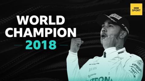 Britain's Hamilton wins fifth F1 world title