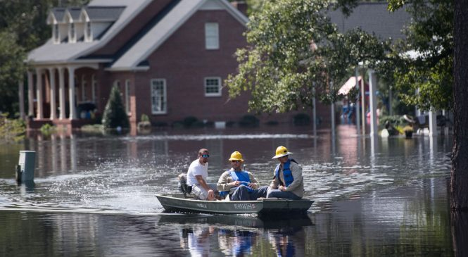 Tropical storm Florence is a reminder that homeowners may need flood insurance