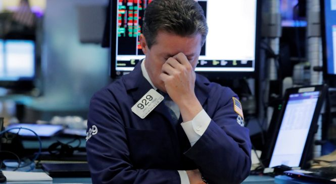 Dow is set for steep triple-digit losses at the open amid rising global tensions