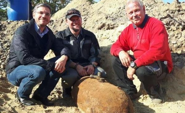 550-pound World War II bomb defused, removed in Potsdam, Germany