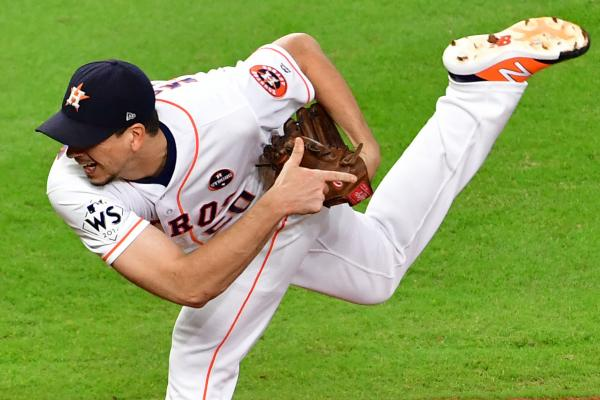 Astros' Charlie Morton well rested for Game 4 start vs. Red Sox