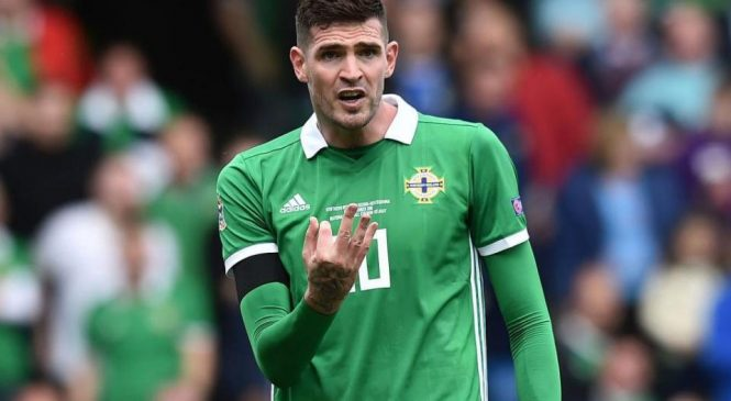 Kyle Lafferty: Rangers forward not available for Hamilton clash as Irish FA invoke five-day rule