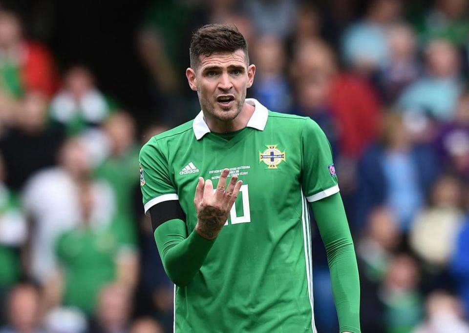 Kyle Lafferty: Rangers forward not available for Hamilton clash as Irish FA invoke five-day rule