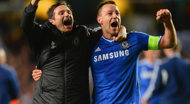 John Terry backed to be a success at Aston Villa by former Chelsea teammate Frank Lampard