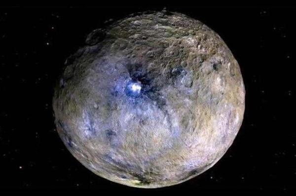 Gravity data details Ceres wandering pole