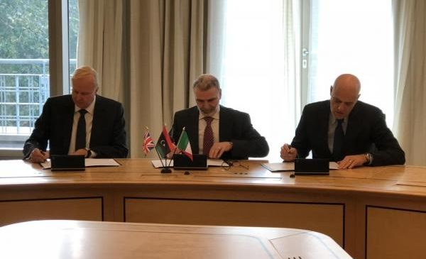 Italy's ENI signs accord with BP, Libya to take over EPSA operation