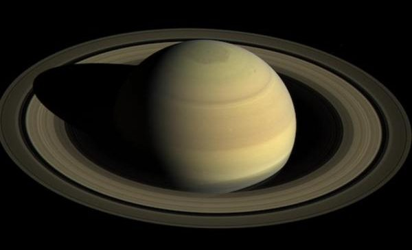 Saturn's inner rings are raining chemicals on its atmosphere
