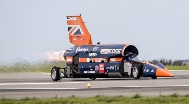 Bloodhound 1,000mph car goes into administration