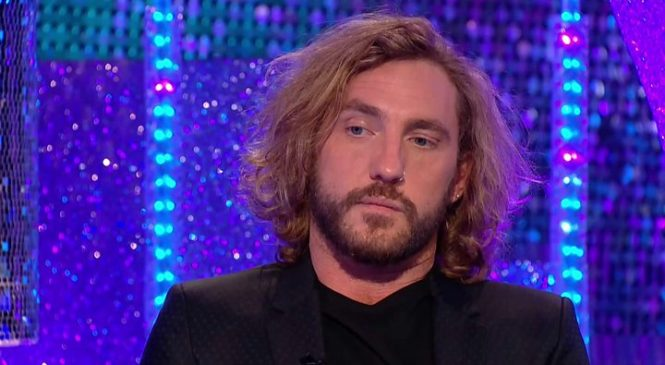 Strictly's Seann Walsh speaks out over kiss