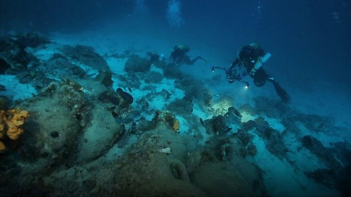 Black Sea ship: 'World's oldest intact wreck' found