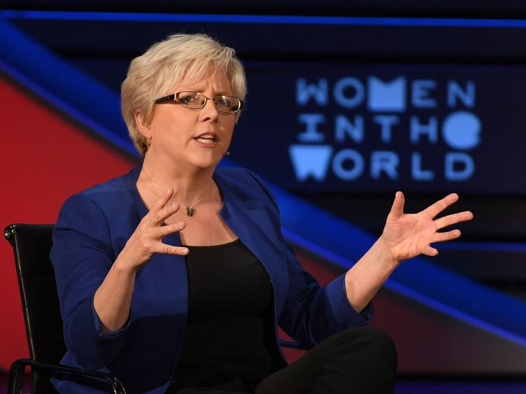 Former China Editor for the BBC, Carrie Gracie