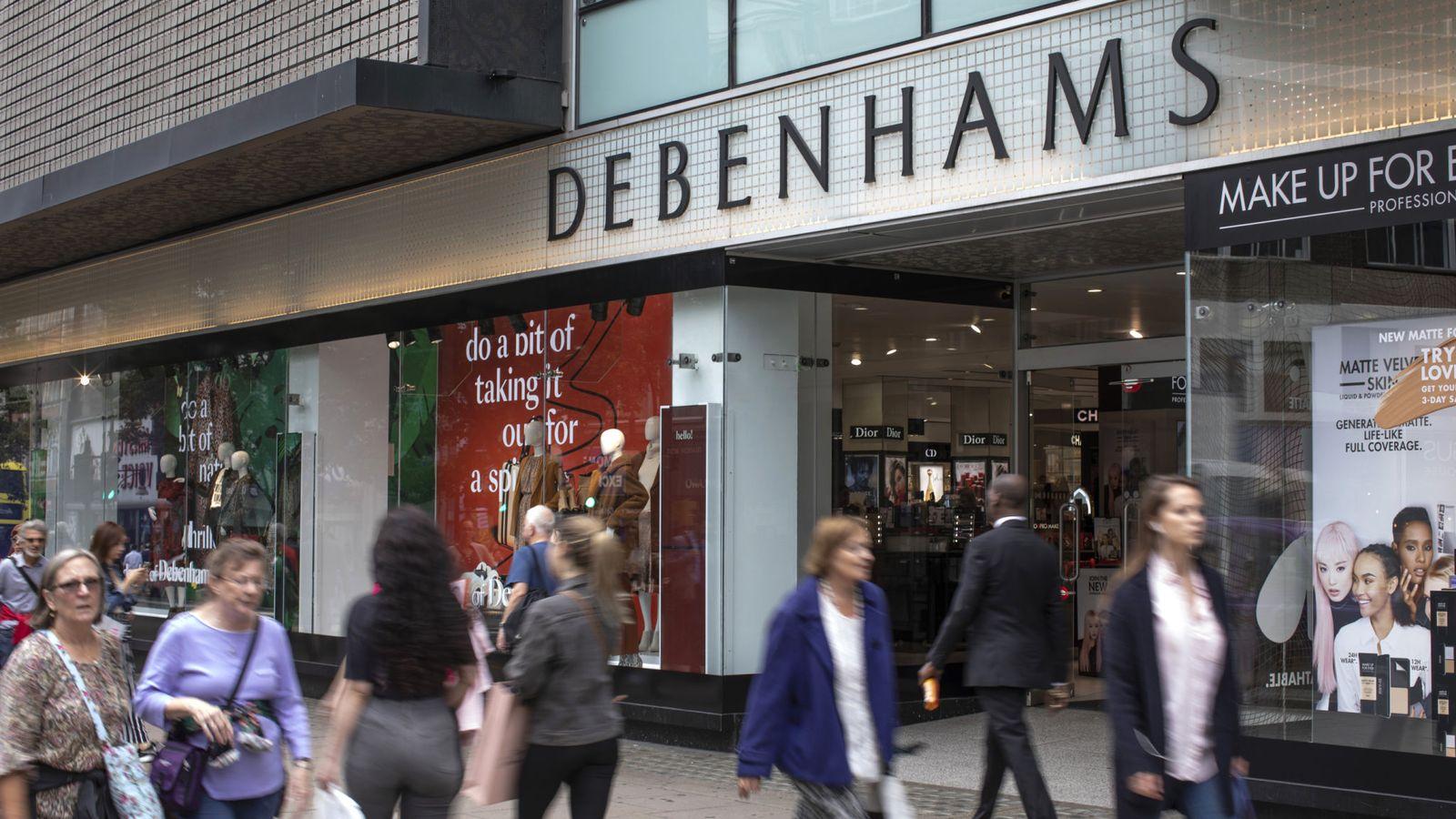 Debenhams slumps to £500m loss as stores face axe