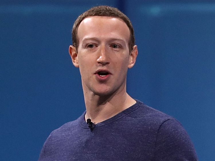 Facebook CEO Mark Zuckerberg speaks during the F8 Facebook Developers conference on May 1, 2018 in San Jose, California. Facebook CEO Mark Zuckerberg deliverd the opening keynote to the FB Developer conference that runs through May 2.