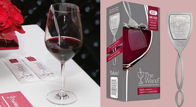 Putting This $3 Gadget in Your Wine Glass Can Supposedly Prevent a Hangover—So We Tried It