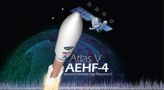 Watch live: ULA to launch military comms satellite on Atlas V rocket