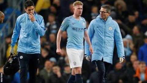 Carabao Cup: Man City beat Fulham 2-0 to reach quarter-finals