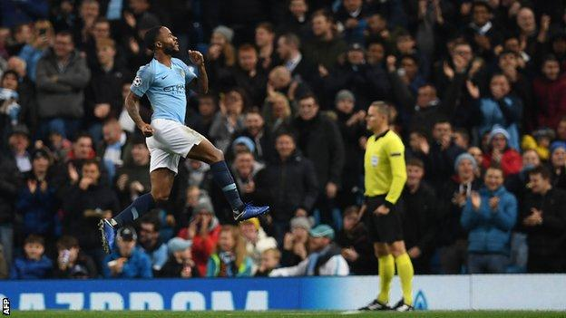 Man City 6-0 Shakhtar Donetsk: Bizarre penalty helps set up record Champions League win