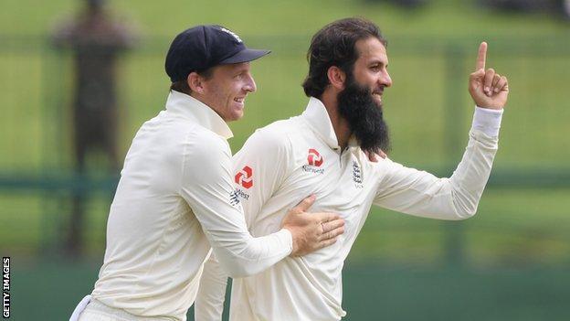 Sri Lanka v England: Moeen Ali and Jack Leach wrap up series win for tourists