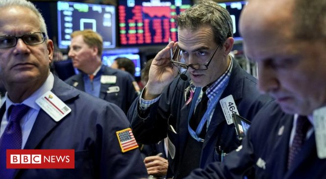 Wall Street sees red as tech shares plunge