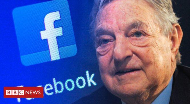 Facebook v Soros: 'Congress must probe'