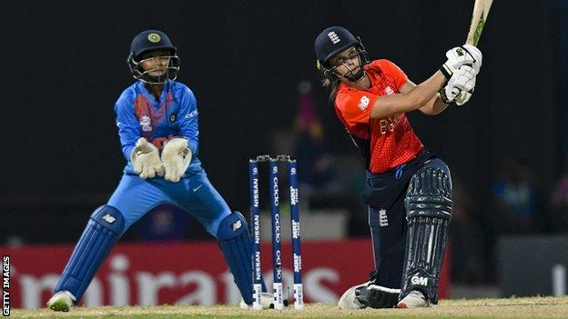 Women's World T20: England beat India to move into final