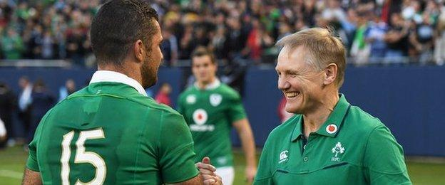 Andy Farrell to replace Joe Schmidt as Ireland coach after World Cup