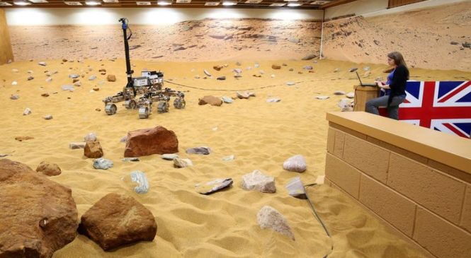 UK robot 'to pave way for humans to explore Mars'