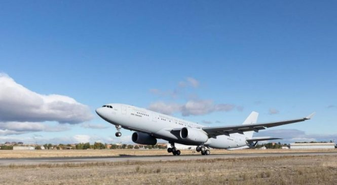 Airbus delivers first A330 tanker aircraft to South Korea