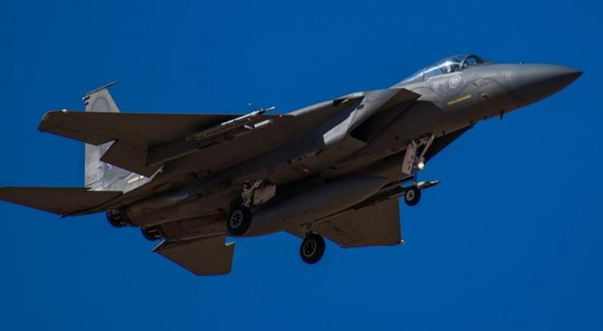 Boeing contracted for sustainment of Saudi F-15s