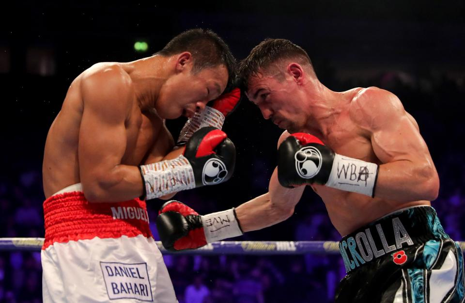 Crolla beat Yourdan with all three judges scoring it 116-112