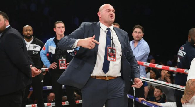 Tyson Fury opens up ahead of Deontay Wilder fight about double family tragedy that caused him to spiral into depression