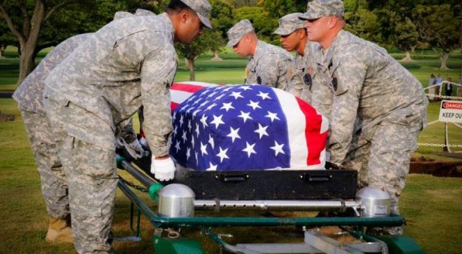 Remains of sailor killed at Pearl Harbor attack buried in Guam