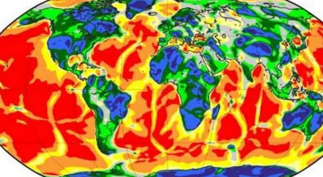 Satellite data offers enhanced view of Earth's tectonic structures