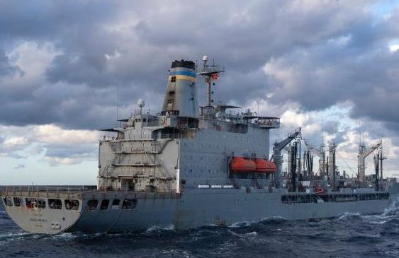 USNS Joshua Humphreys fleet replenishment oiler to enter drydock for overhaul